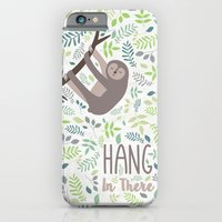 Sloth Hang In There Illustration iPhone 6 Slim Case