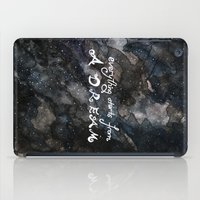 Everything Starts From A… iPad Case