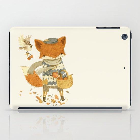 Fritz the Fruit-Foraging Fox iPad Case