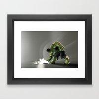 Puny Apple..... Framed Art Print