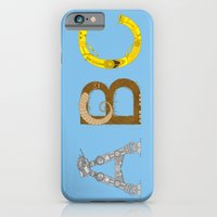mAY BEE SEE be with you! (blue) iPhone 6 Slim Case