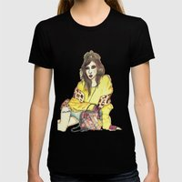 Hyuna Womens Fitted Tee Black SMALL