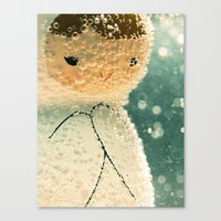 Snuggle bubble Canvas Print