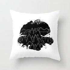 PNW Throw Pillow