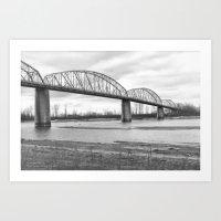 Boonville Bridge III Art Print
