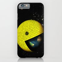 Pacman Eating The World iPhone 6 Slim Case