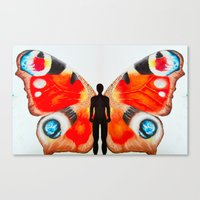 The Butterfly Man Canvas Print
