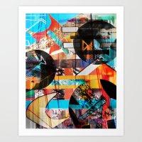 Lights and Sounds Art Print
