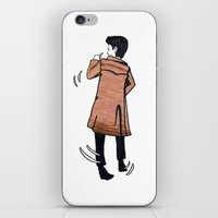 The Doctor dances iPhone & iPod Skin
