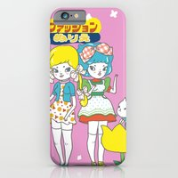 anime iPhone & iPod Cases featuring Retro Anime by Mel Stringer