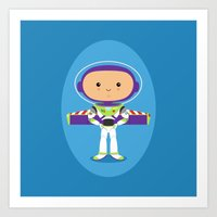 Space Ranger Art Print