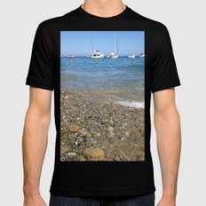 The Beach SMALL Mens Fitted Tee Black