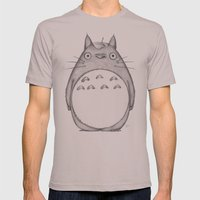 My Neighbor Mens Fitted Tee Cinder SMALL
