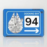 Docking Bay 94 iPad Case