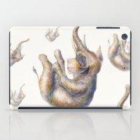 Falling Elephant iPad Case