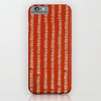 Red Dashes iPhone 6 Slim Case