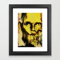 John Malkovich Framed Art Print