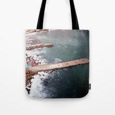 Cold Dark Sea Tote Bag