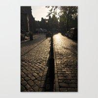 Amsterdam Morning Canvas Print