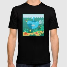 SUBMARINE (AQUATIC VEHICLES) Black SMALL Mens Fitted Tee