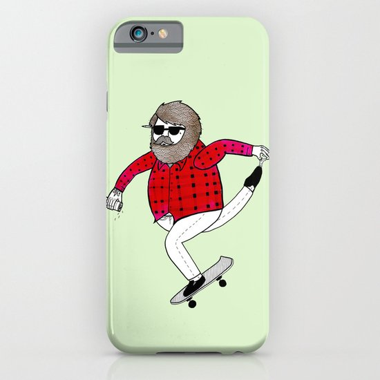 On how to overcome certain obstacles while skateboarding iPhone & iPod Case