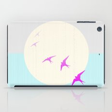 Flying into the Sunset iPad Case