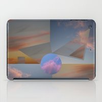 Clouds•triangles And C… iPad Case