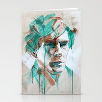 sherlock Stationery Cards featuring Sherlock by Dan Olivier-Argyle
