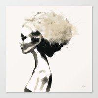 Serene - Digital Fashion… Canvas Print