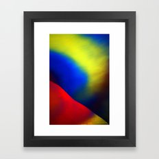 Aurore Boréale Framed Art Print