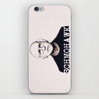 Schmohawk  |  Larry Davi… iPhone & iPod Skin