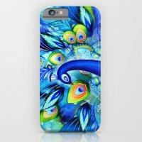 Peacock In Full Bloom iPhone 6 Slim Case