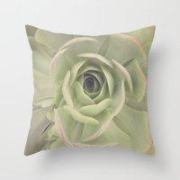 Iceplant  Throw Pillow