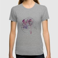 Circles - Brothers Womens Fitted Tee Athletic Grey SMALL