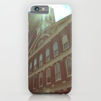 iPhone & iPod Case featuring Faneuil Hall by Rebekah Carney
