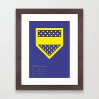 Boca Juniors Framed Art Print