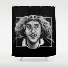 The Wilder Doctor Shower Curtain