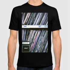 Vinyl Baby Mens Fitted Tee Black SMALL