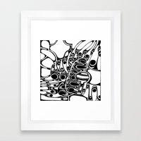 Love, Peace & Soul Framed Art Print