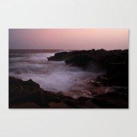 A Menorca Storm. Canvas Print