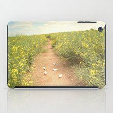 meadow of paperboats iPad Case