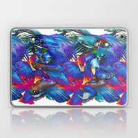 Fighting Fishes Betta Splendens Laptop & iPad Skin