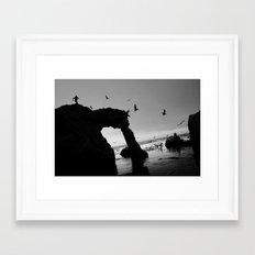 Arch Runner Framed Art Print