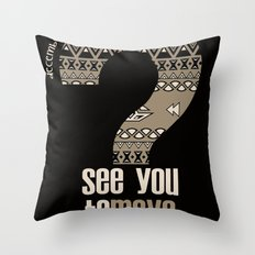 toMAYA Throw Pillow
