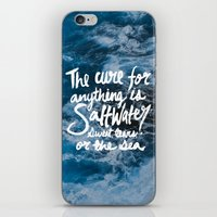 Saltwater iPhone & iPod Skin