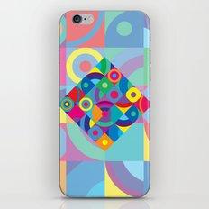 Geometric Figures in color iPhone & iPod Skin