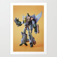 He Who Would Be King Art Print