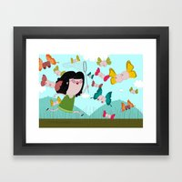 Fields Of Joy Framed Art Print