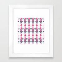 Pink Dart Framed Art Print