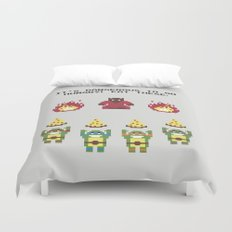 The Legend of Pizza Duvet Cover